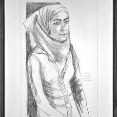 Zeichnung - Portrait